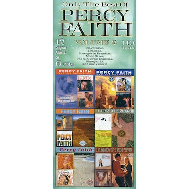 ONLY THE BEST OF PERCY FAITH 2 CD