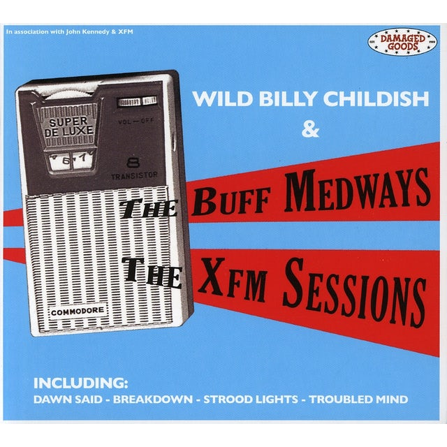 Billy Wild Childish XFM SESSIONS CD