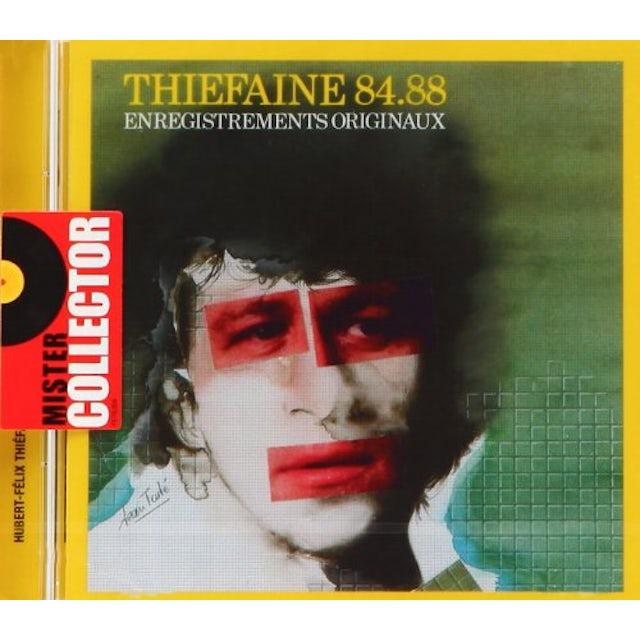 Hubert-Felix Thiefaine THIEFAINE 84-88 CD