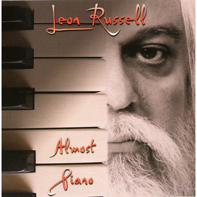 Leon Russell ALMOST PIANO CD