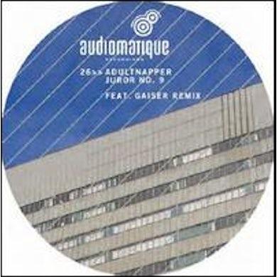 Adultnapper JUROR NO. 9 Vinyl Record