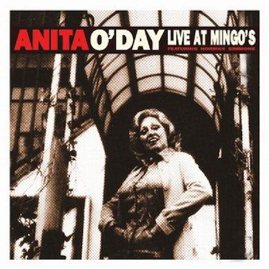Anita O'Day LIVE AT MINGO'S CD