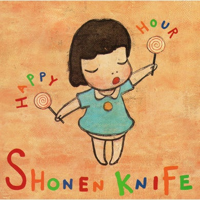 Shonen Knife HAPPY HOUR CD