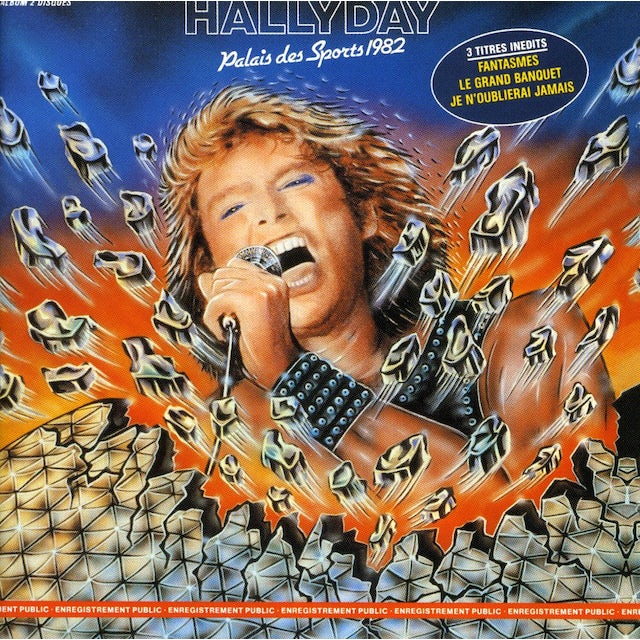 Johnny Hallyday PALAIS DES SPORTS 1982 CD
