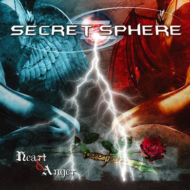 Secret Sphere HEART & ANGER CD