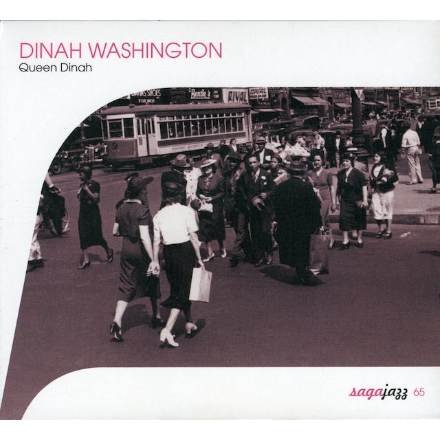 Dinah Washington QUEEN DINAH CD