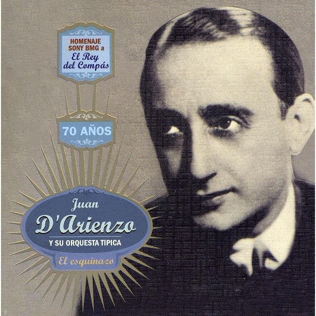 Juan d'Arienzo EL ESQUINAZO CD