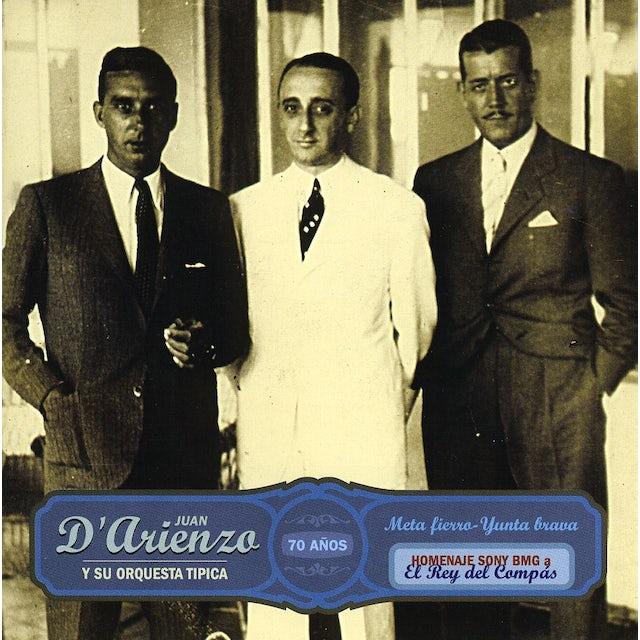Juan d'Arienzo META FIERRO CD