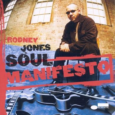 Rodney Jones SOUL MANIFESTO CD