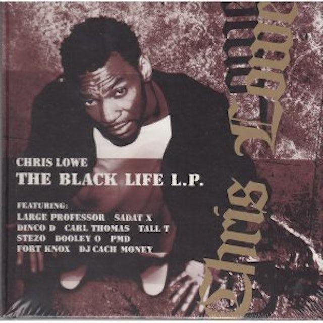 Chris Lowe BLACK LIFE CD