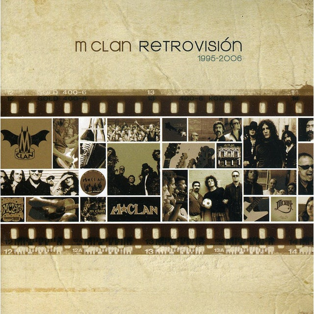 M-Clan RETROVISION CD