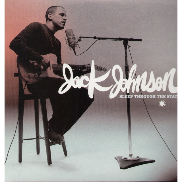 Jack Johnson SLEEP THROUGH THE STATIC Vinyl Record