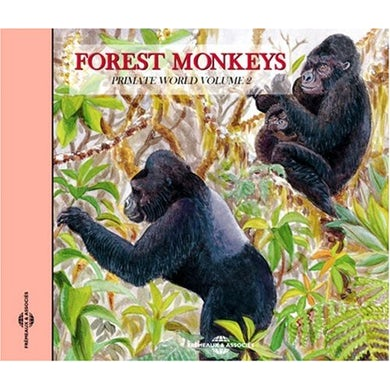 Sounds of Nature FOREST MONKEYS: PRIMATE WORLD 2 CD