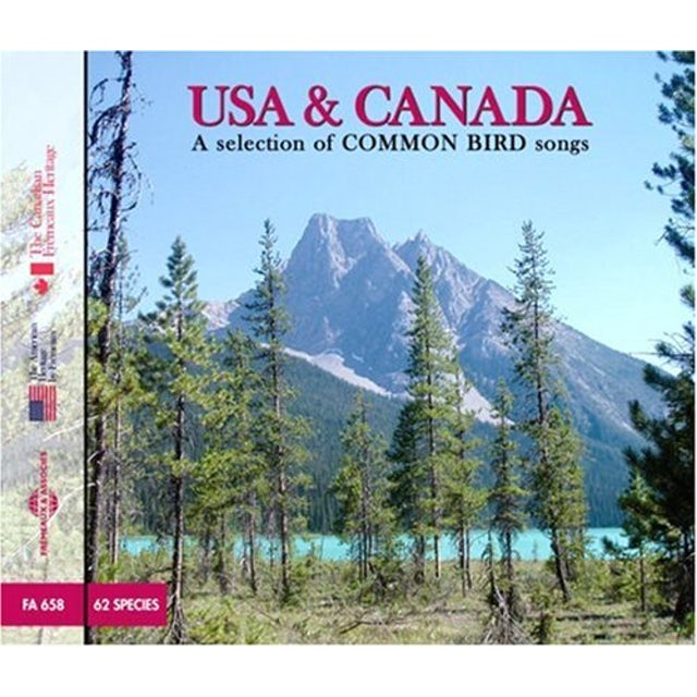 Sounds of Nature USA & CANADA: SELECTION OF COMMON BIRDS SONGS CD