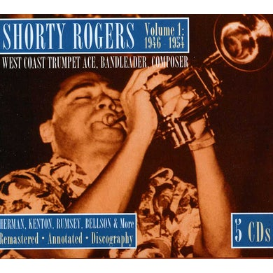 Shorty Rogers WEST COAST TRUMPET ACE BANDLEADER COMPOSER 1 1946 CD