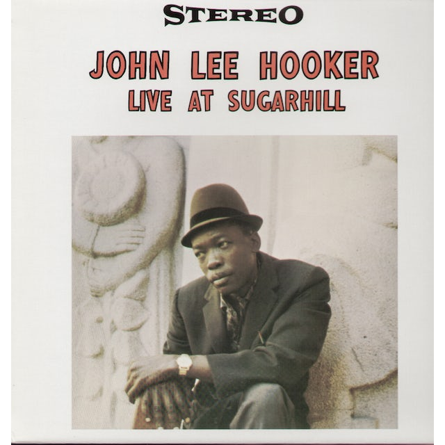 John Lee Hooker LIVE AT SUGAR HILL Vinyl Record