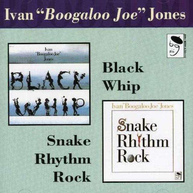 Ivan Jones SNAKE RHYTHM ROCK/BLACK WHIP Vinyl Record