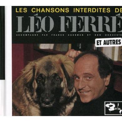 Leo Ferre LES CHANSONS INTERDITES ET AUTRES (VOL2) CD