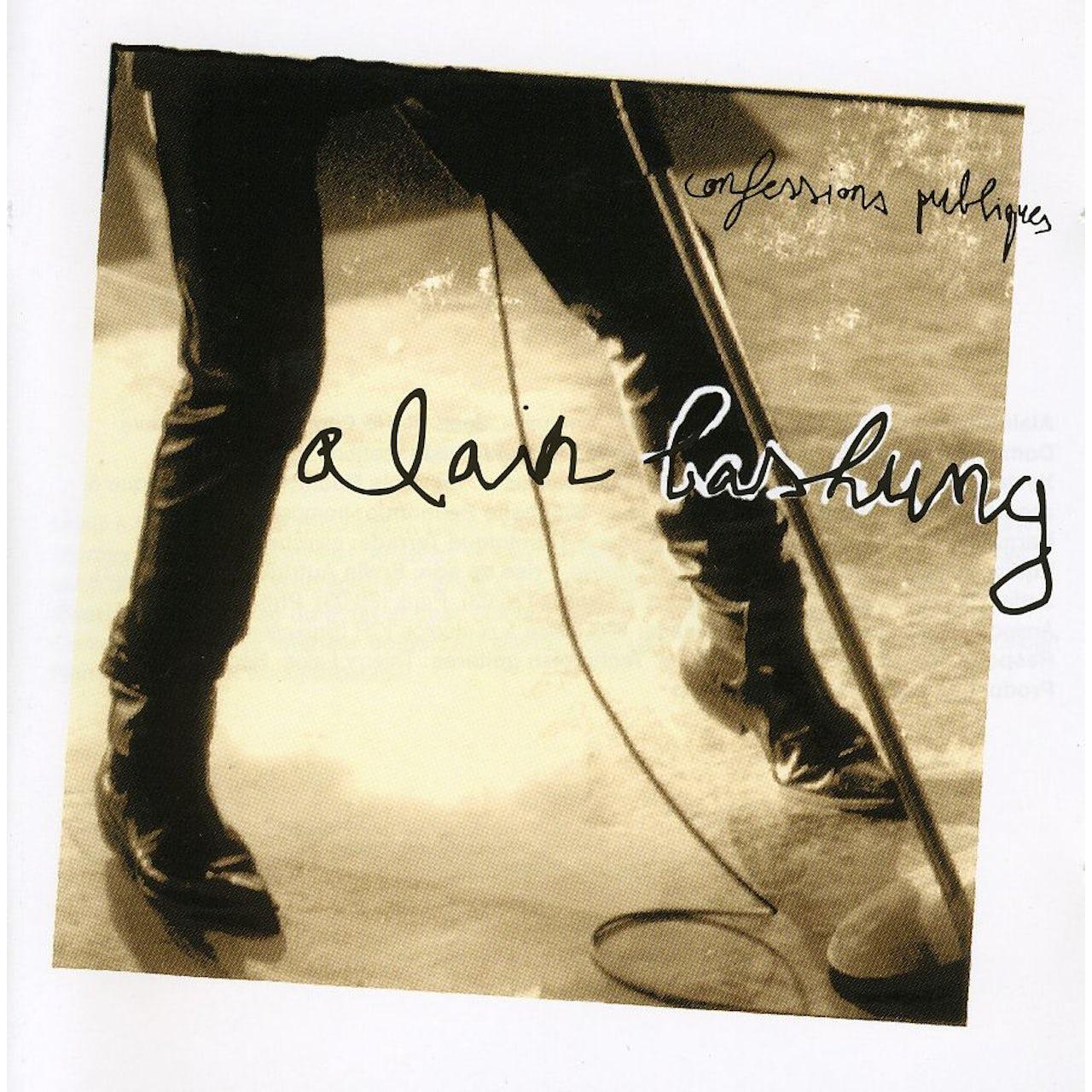 Alain Bashung CONFESSIONS PUBLIQUES CD