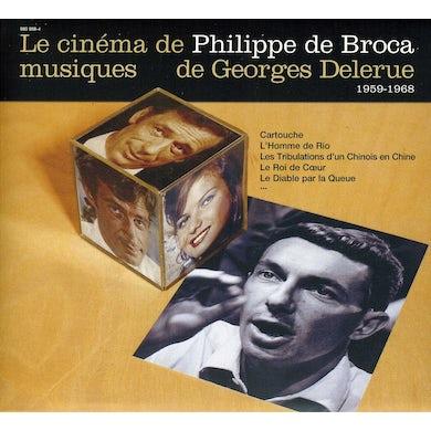 Georges Delerue LE CINEMA DE PHILIPPE DE BROCA 1 CD