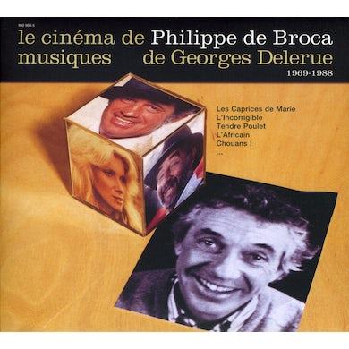 Georges Delerue LE CINEMA DE PHILIPPE DE BROCA 2 CD