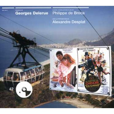 Georges Delerue L'HOMME DE RIO / LES TRIBULATIONS D'UN CHINOIS CD