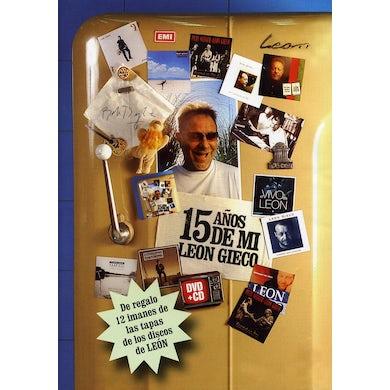 Leon Gieco 15 ADOS DE MI (CD+DVD) CD