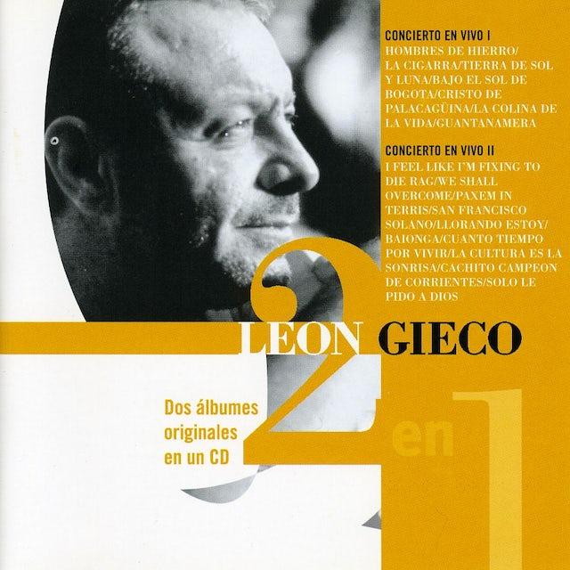 Leon Gieco CONCIERTO EN VIVO I Y II CD