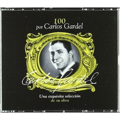 100 POR CARLOS GARDEL (BOX 4CD CD