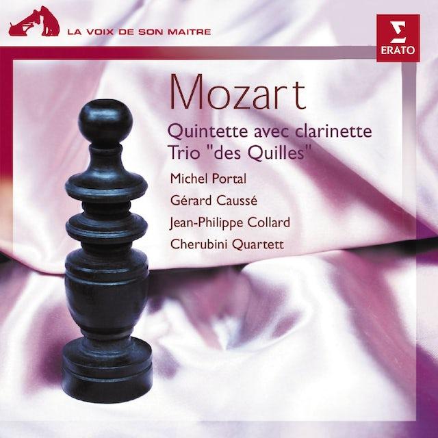 Mozart QUINT. CLARINETTE-CORDES, TRIO PIANO-ALTO-CLARINET CD