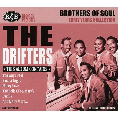 Drifters BROS OF SOUL - EARLY YEARS COLL CD