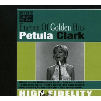Petula Clark ENCORE OF GOLDEN HITS CD