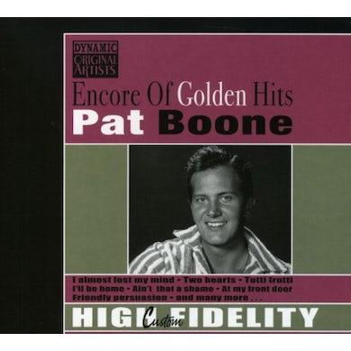 Pat Boone ENCORE OF GOLDEN HITS CD