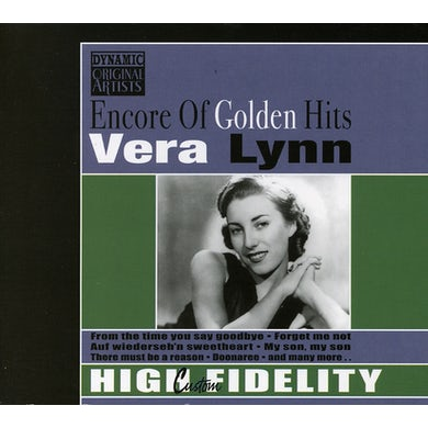 Vera Lynn ENCORE OF GOLDEN HITS CD