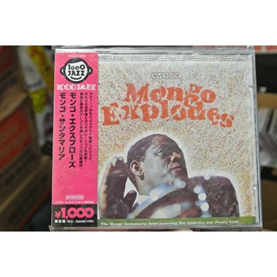 Mongo Santamaria MONGO EXPLODES CD