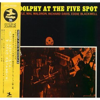 Eric Dolphy AT FIVE SPOT 2 CD