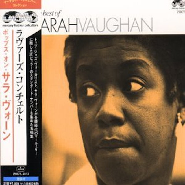 Sarah Vaughan LOVERS CONCERTO-POPS ON CD