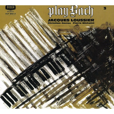 Jacques Loussier PLAY BACH N 3 CD