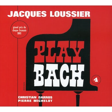Jacques Loussier PLAY BACH N 4 CD