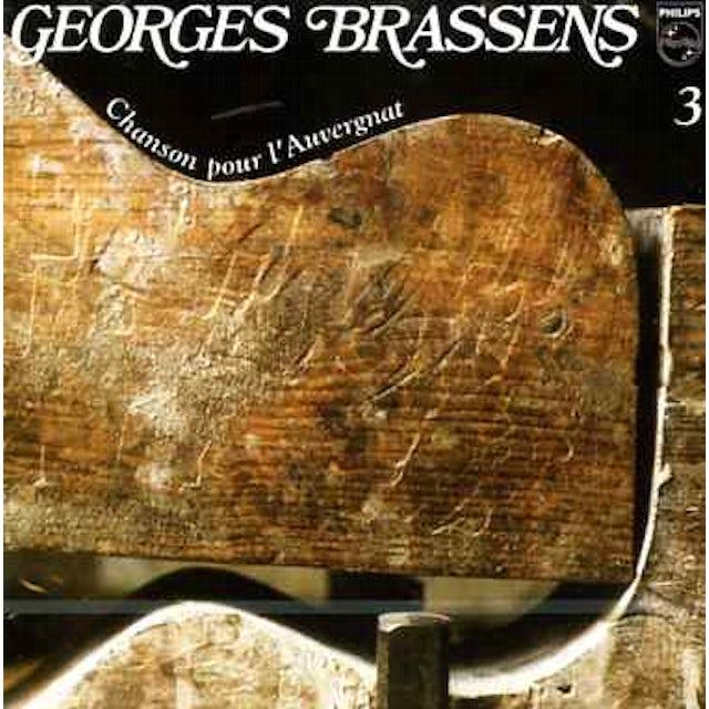 Georges Brassens CHANSON POUR L'AUVERGNAT (VOL3) CD