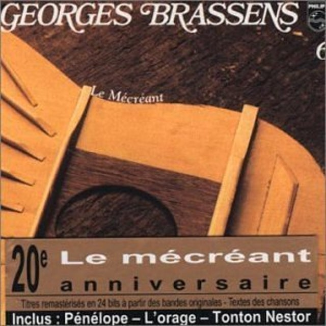 Georges Brassens LE MECREANT (VOL6) CD