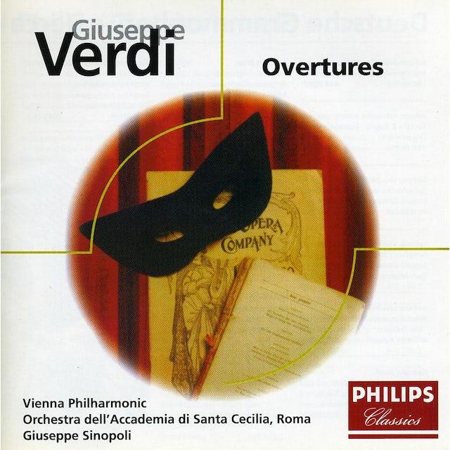 Giuseppe Sinopoli VERDI: OBERTURAS CD