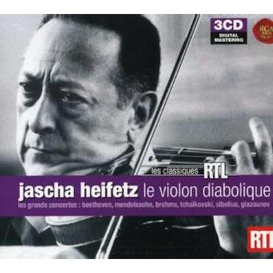 Jascha Heifetz HEIFETZ - LES GRANDS CONCERTOS POUR VIOL CD
