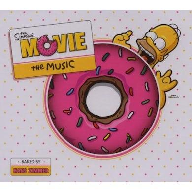 Simpsons MOVIE SOUNDTRACK (STANDARD EDITION) CD