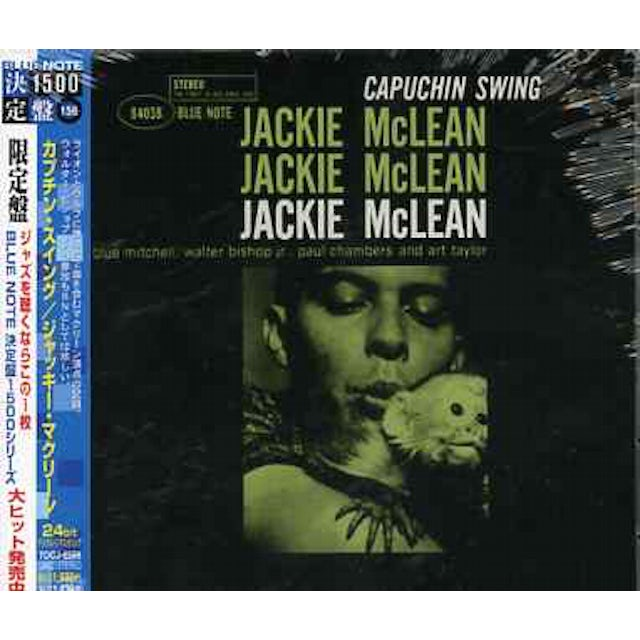 Jackie Mclean CAPUCHIN SWING CD