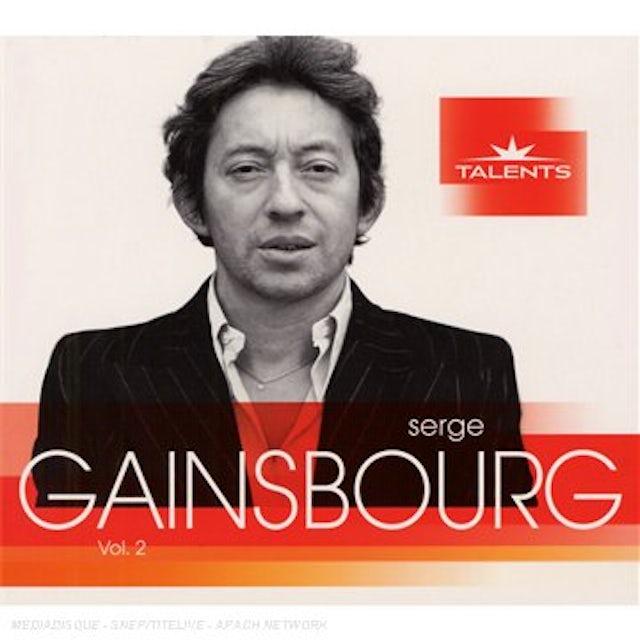 Serge Gainsbourg TALENTS 2 CD