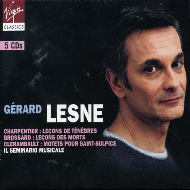 Gerard Lesne MUSIQUE SACREE FRANCAISE - CHARPENTIER : LECONS DE CD