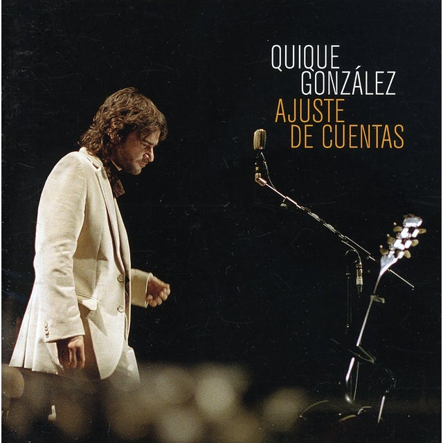 Quique Gonzalez AJUSTE DE CUENTAS CD