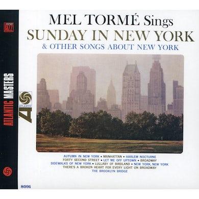 Mel Torme SINGS SUNDAY IN NEW YORK CD