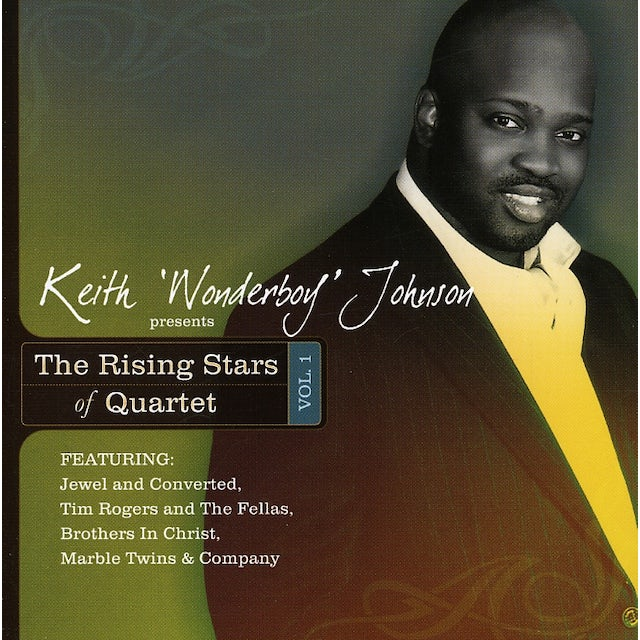 Keith Wonderboy Johnson RISING STARS OF QUARTET 1 CD